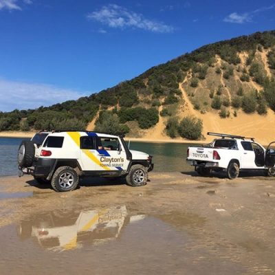 Double Island Point 4WD Rescue
