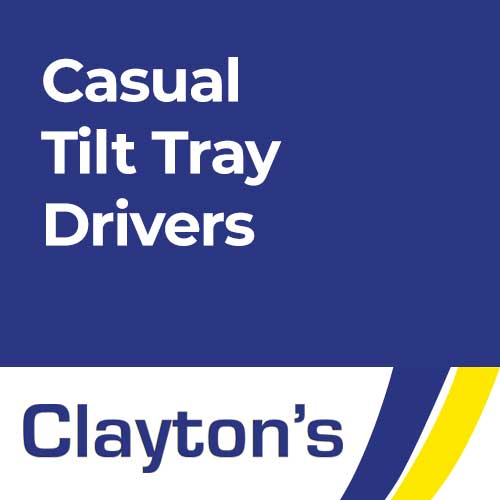 Casual Tilt Tray Drivers