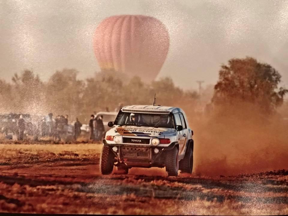 FJ Desert Race