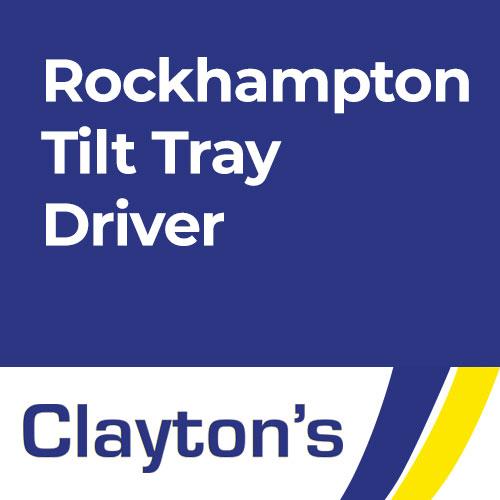 Rockhampton Tilt Tray Driver