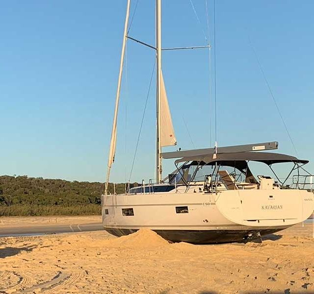 Fraser Island Yacht Recovery